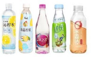 China lightly flavoured water