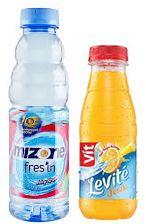 Danone Mizone Fres'in (left) and Danone Vit Levite (right)