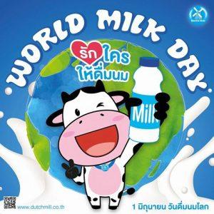 Dutch mill world milk day