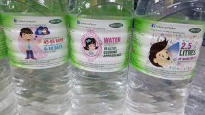 water spritzer