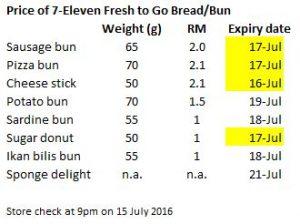 Fresh to go bread bun
