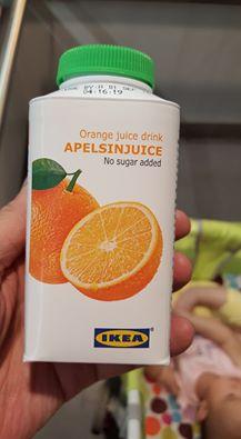 Ikea juice