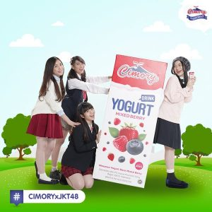 Endorsed by pop band JKT 48