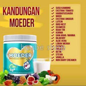 Moeder ingredients