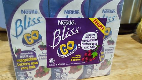 Nestle Bliss Go With Inulin Promotes Good Digestive For