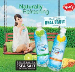 Oceanic lime drink