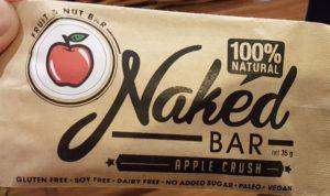 Naked Bar Apple Crush (gluten free)