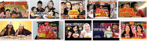 Samyang Challenge in Indonesia