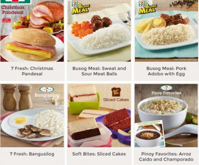 7 Eleven Philippines Meals Mini Me Insights