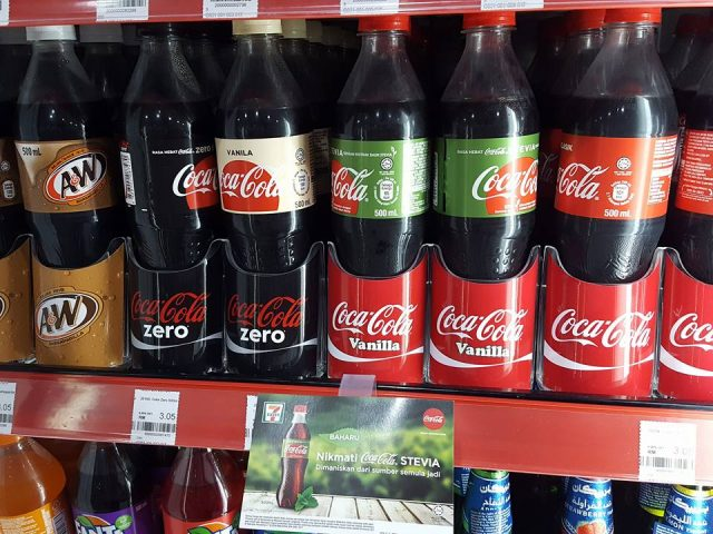 Coca Cola Stevia Offers 35 Less Sugar Now Available In